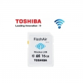 Toshiba FlashAir Wifi Card SDHC 16GB Class 10 Photo Memory card (Original Malaysia)